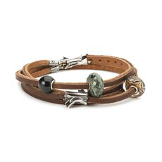 Adventurous Leather Bracelet