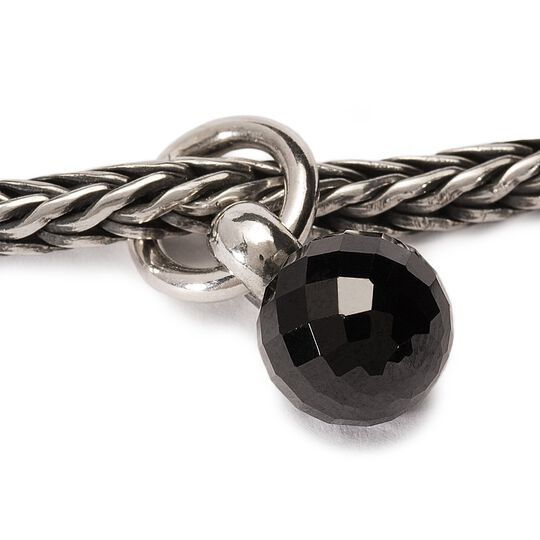Black Spinel Tassel Bead