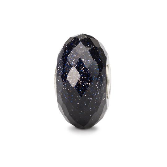 Faceted Blue Goldstone