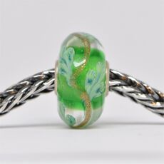 Unique Green Bead of Balance