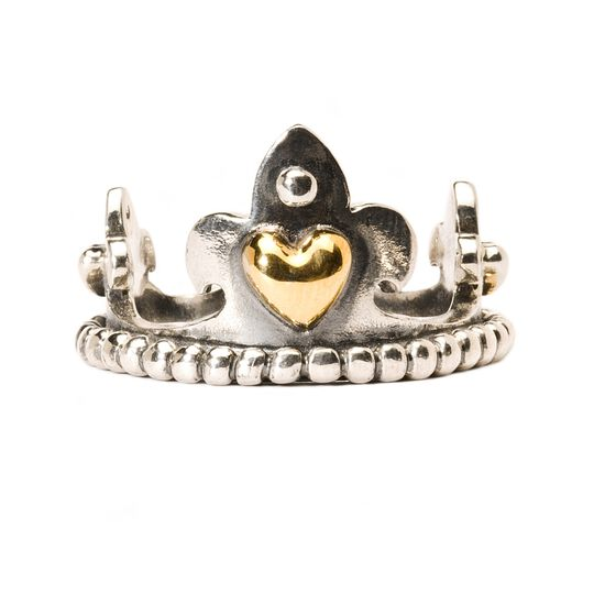 Crown with Gold Ring