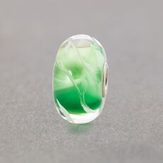 Lime Leaves Bead