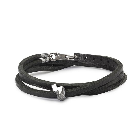 Superhero Leather Bracelet