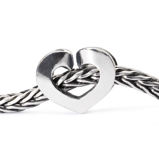 Eternal Love Bead, Silver