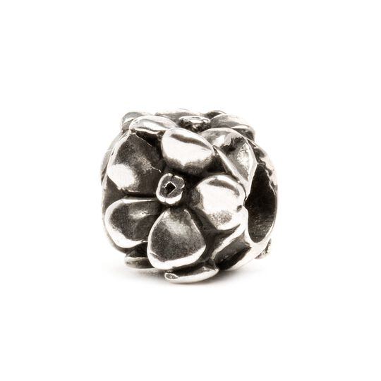Rose Bead, Silver