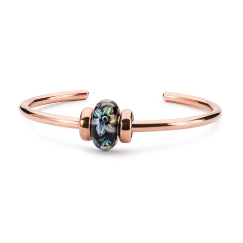 Copper Bangle with 2 x Copper Spacers
