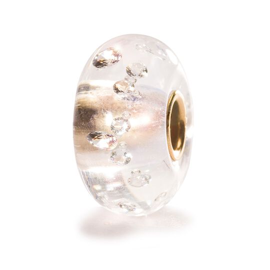 Diamond Bead w/ Gold Core