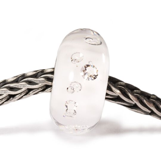 The Diamond Bead, White