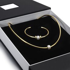 This is an image of the product Exclusive Gold Bangle Gift Set