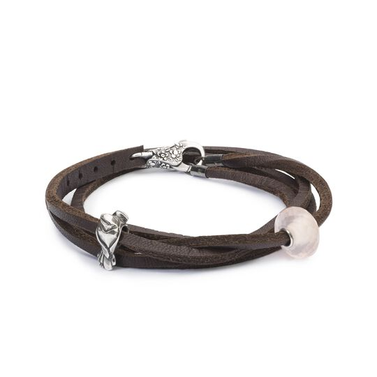 Lovebirds Leather Bracelet