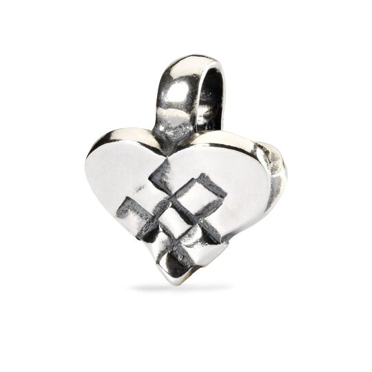 Christmas Heart Bead