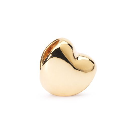 Heart Bead, Gold