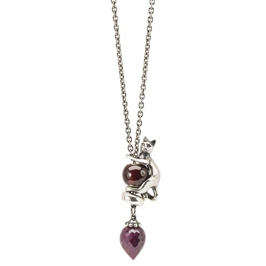 Fantasy Necklace with Ruby