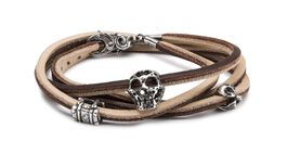 Mythical Travels Leather Bracelet