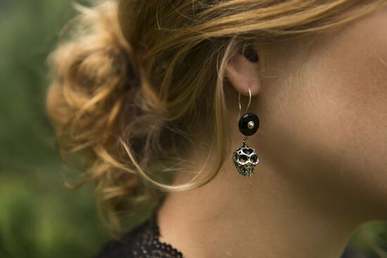 Mexican Sugar Skull Earrings