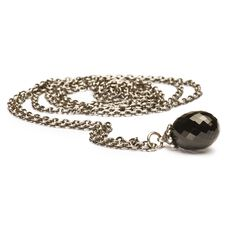 This is an image of the product Silver Fantasy Necklace With Black Onyx