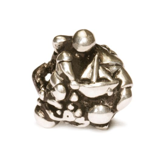 Transition - Man Bead, Silver