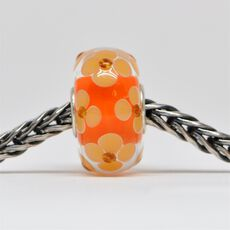 Unique Orange Bead of Optimism