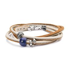 Thalassophile Leather Bracelet