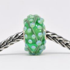 This is an image of the product Unique Green Bead of Balance
