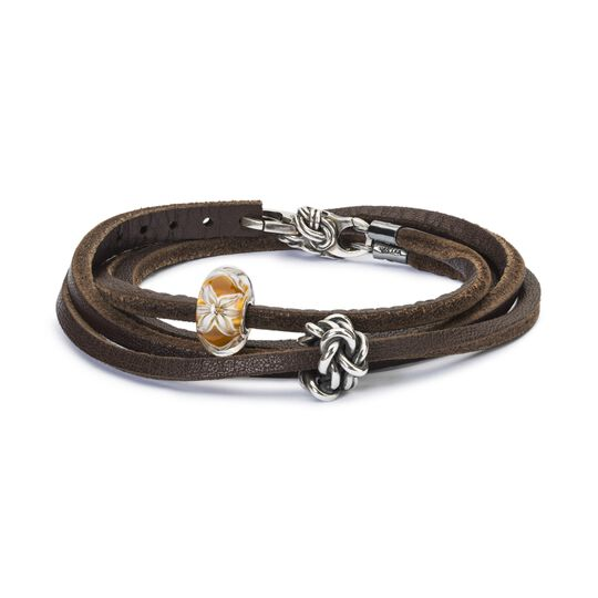 Blooming Friendship Leather Bracelet