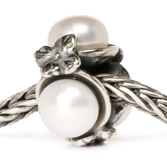 Triple Pearl Bead, White