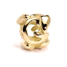 This is an image of the product Letter Bead, G, Gold