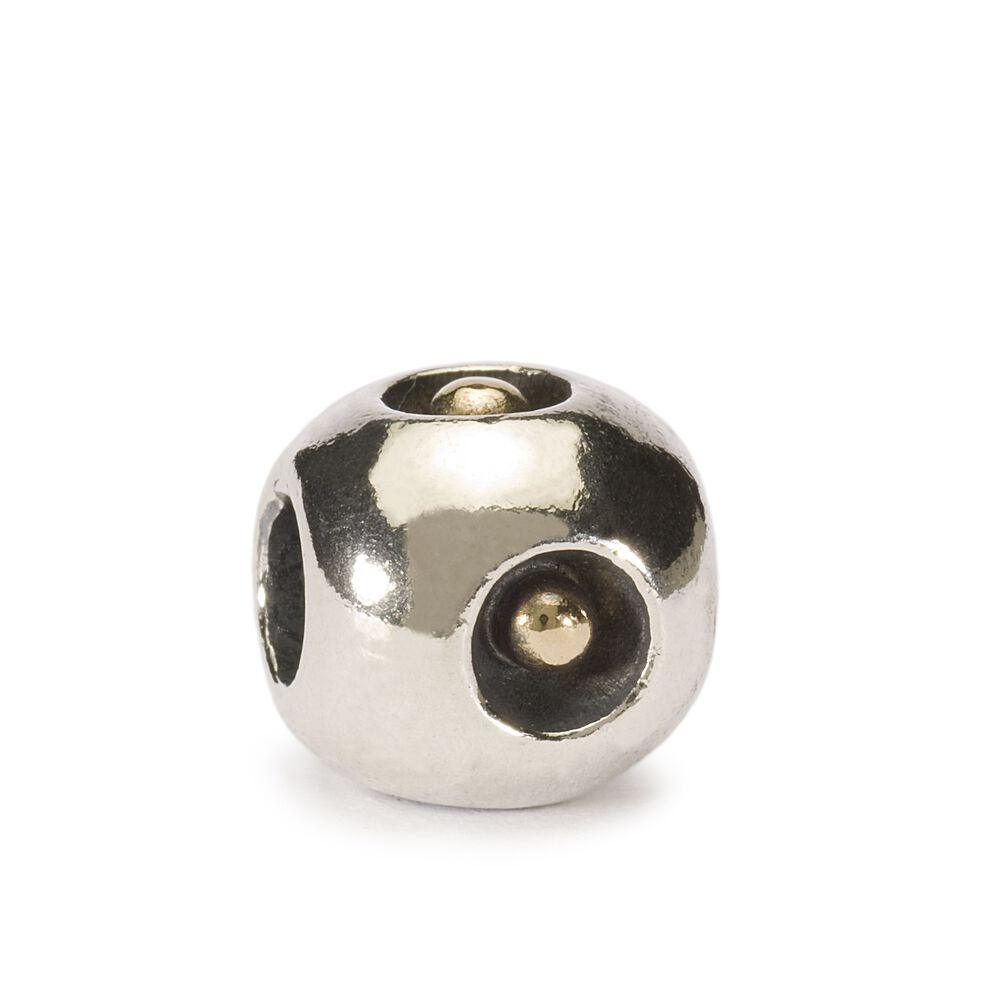 Gold Droplet Bead