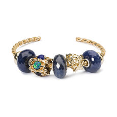 This is an image of the product Midnight Sapphire Bangle