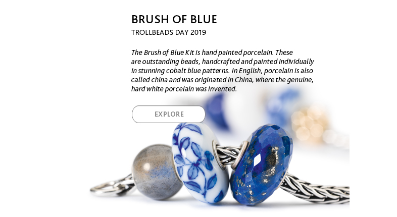 2019 Trollbeads Day Collection: Brush of Blue
