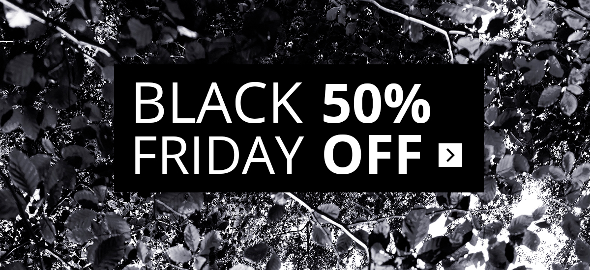 Black Friday – 50% off
