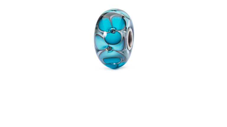 Soul of flowers Trollbeads glass bead