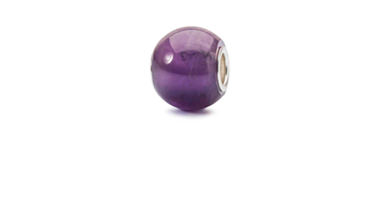 Round Amethyst is a purple gemstone, which is the colour of inspiration