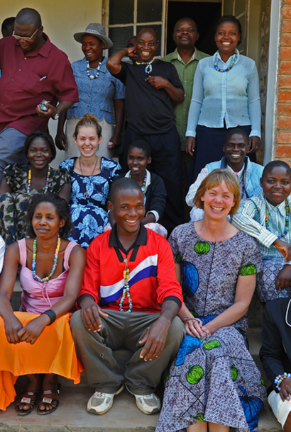 Malawi workshop crew with Lise Aagaard