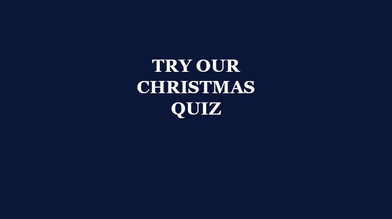 Take the Christmas Quiz