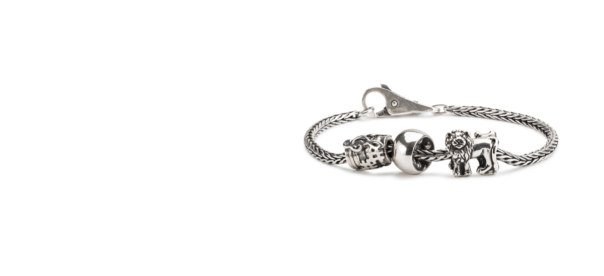 Sterling silver bracelet with beautiful silver beads