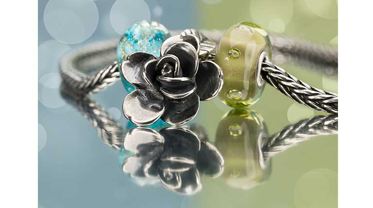 New Wisdom collection with designs close to the true Trollbeads DNA