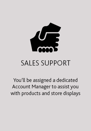 Become a Retailer - Sales Support