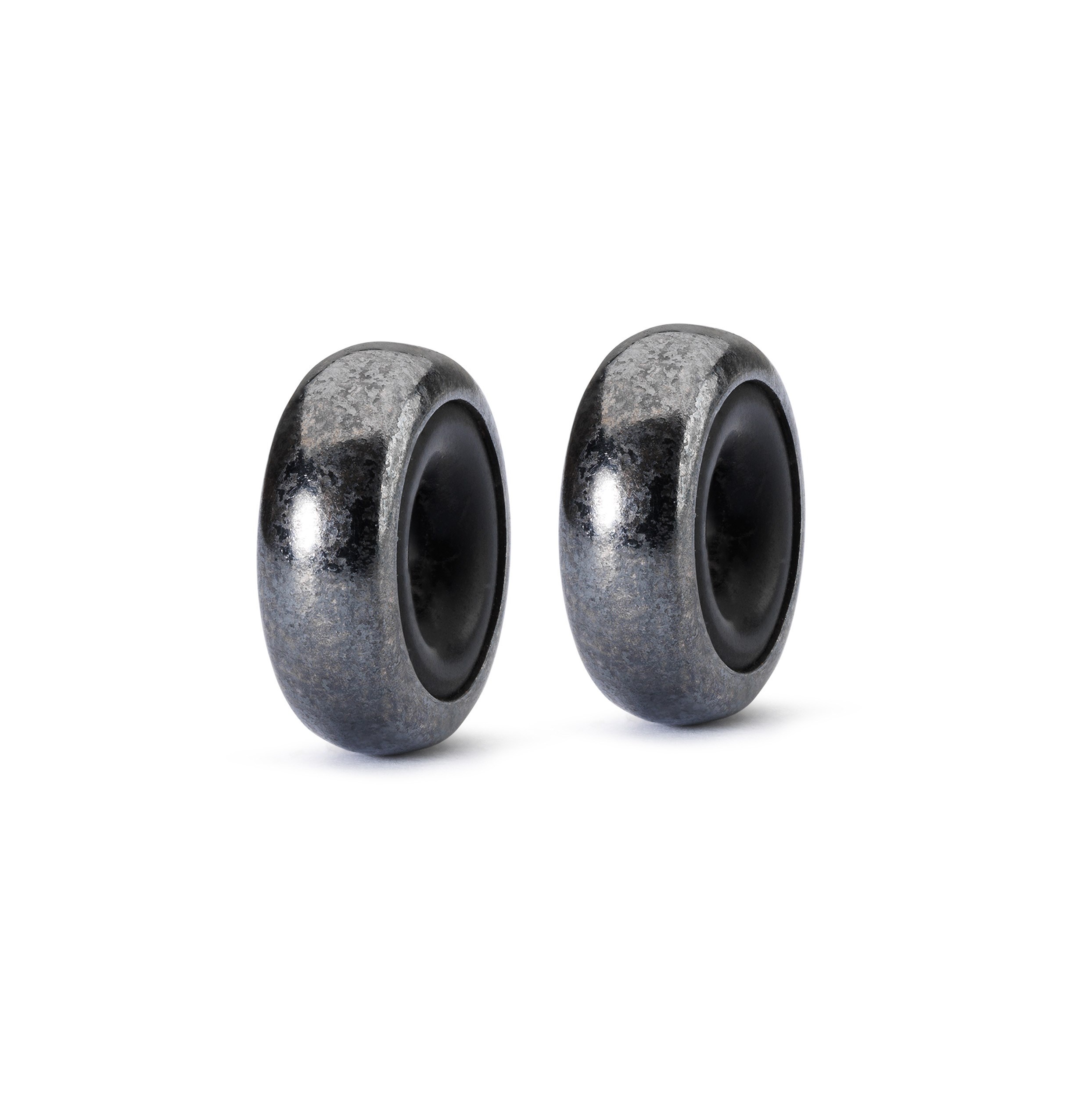 Silver Spacer Oxidized (2 pcs)