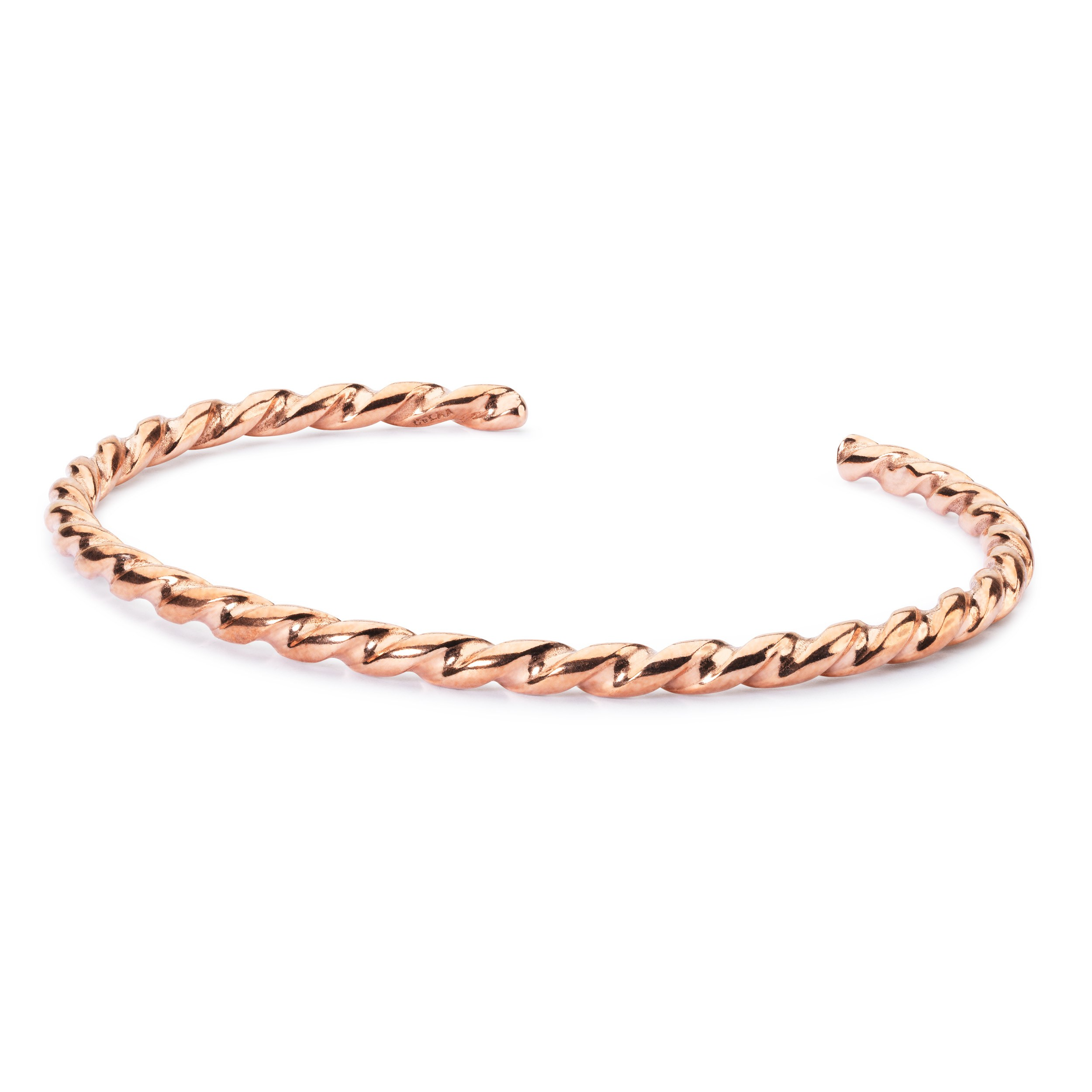 Twisted Copper Bangle XXS