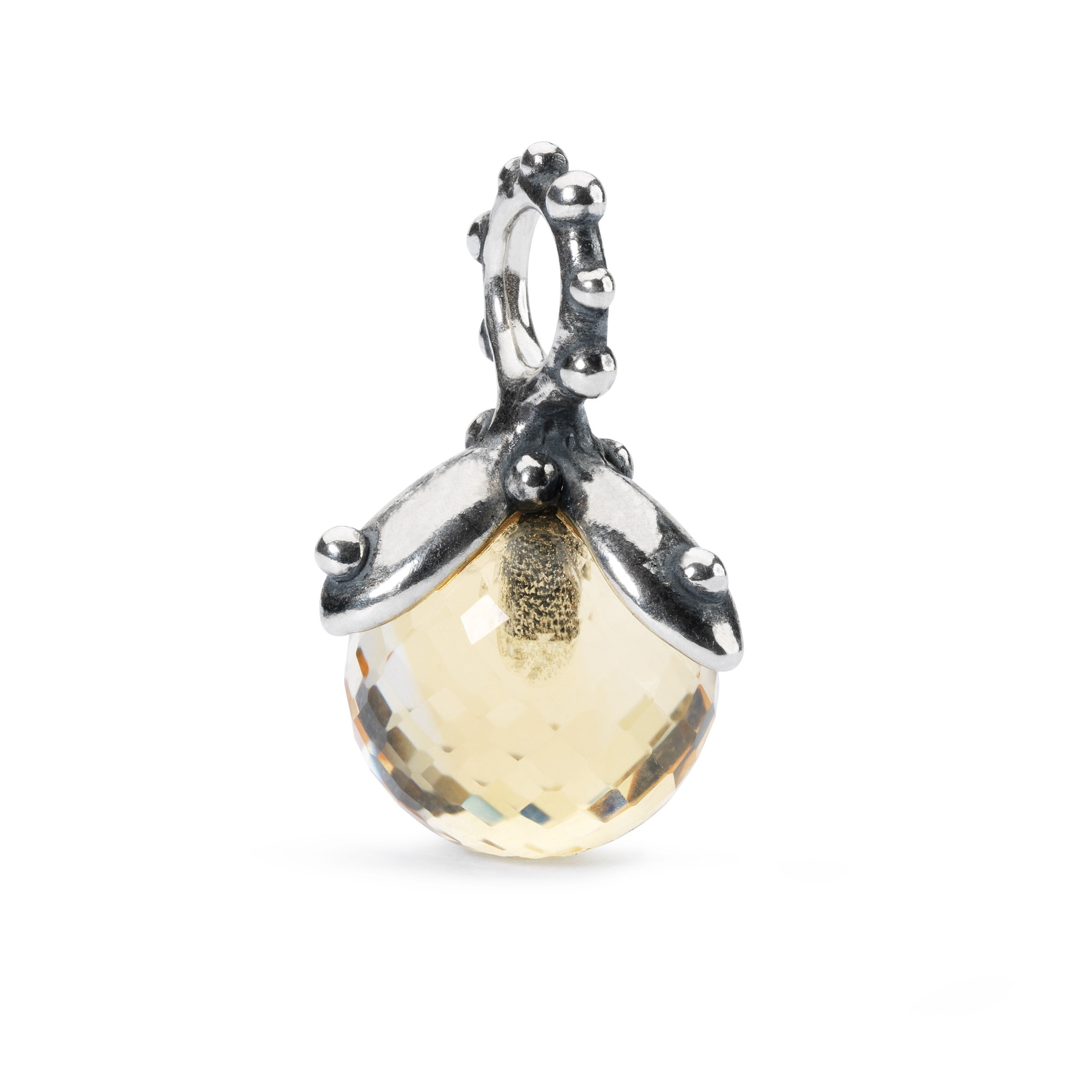 Citrine Facet Tassel